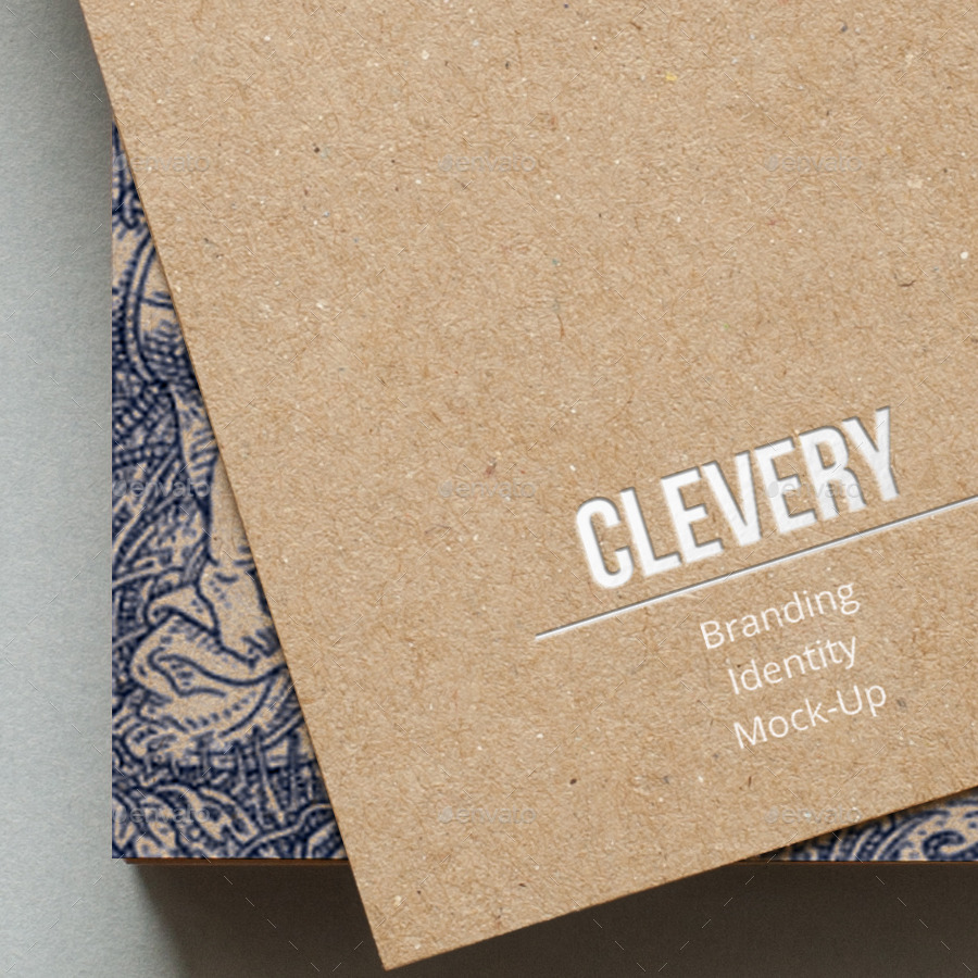 Branding / Identity / Business Card Mock-Up by Clevery | GraphicRiver