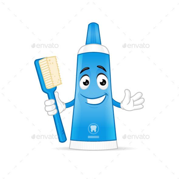 Toothpaste - Health/Medicine Conceptual