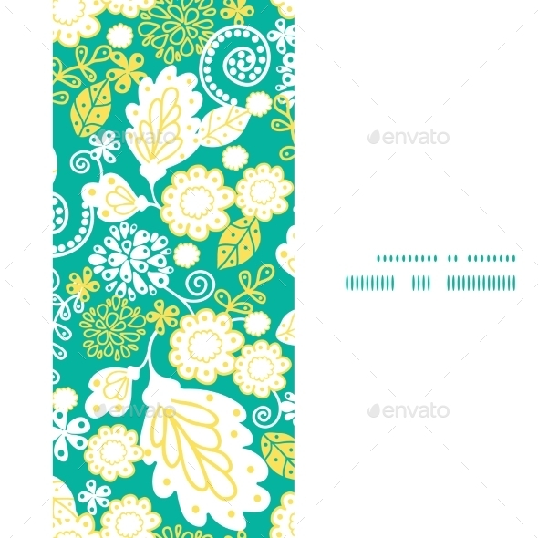 Floral Banner  - Patterns Decorative