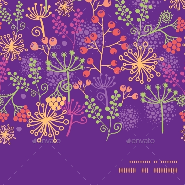 Garden Pattern  - Backgrounds Decorative