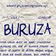 Buruza Font  - GraphicRiver Item for Sale