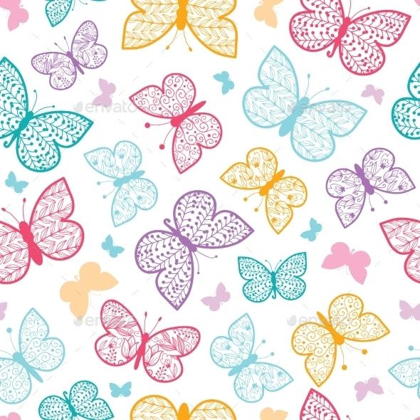 Butterflies Pattern  - Patterns Decorative
