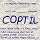 Coptil Font - GraphicRiver Item for Sale