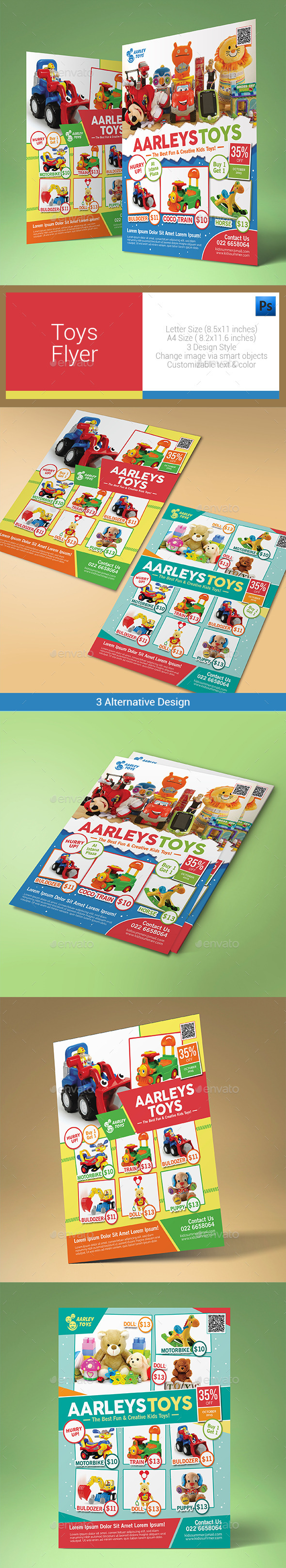 Toys Flyer - Corporate Flyers