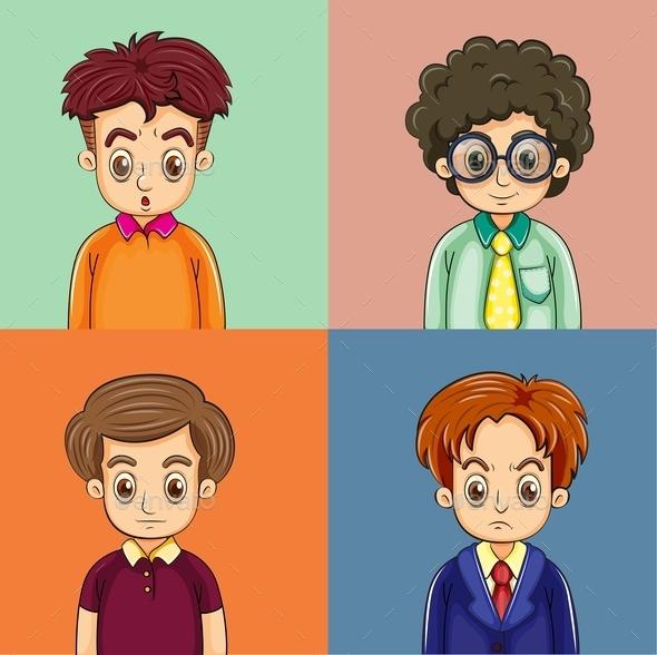 Men - People Characters