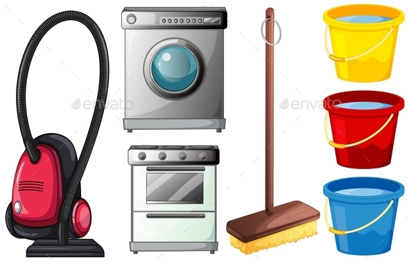 Cleaning Products  - Man-made Objects Objects