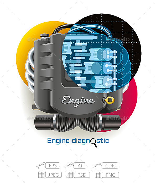 Engine Diagnostic - Services Commercial / Shopping