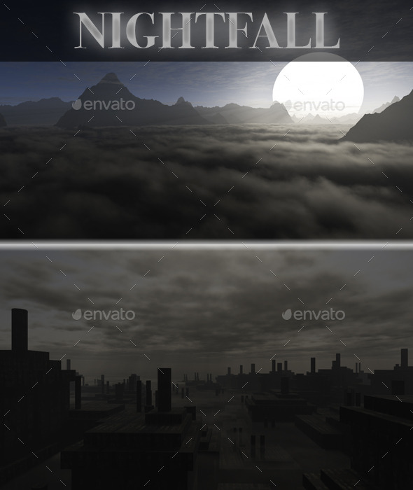 Night HD Skybox Pack - Backgrounds Game Assets