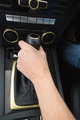 Woman using gearshift in her car - PhotoDune Item for Sale