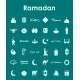 Set of Ramadan Icons - GraphicRiver Item for Sale