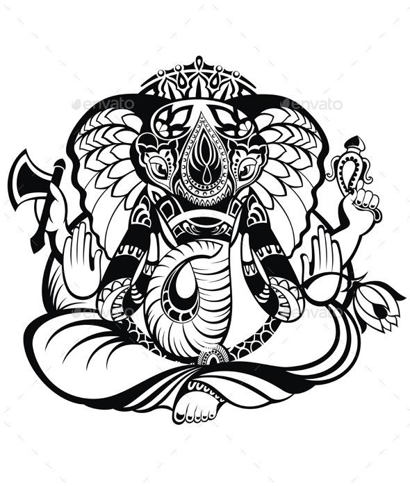 Ganesha - Religion Conceptual