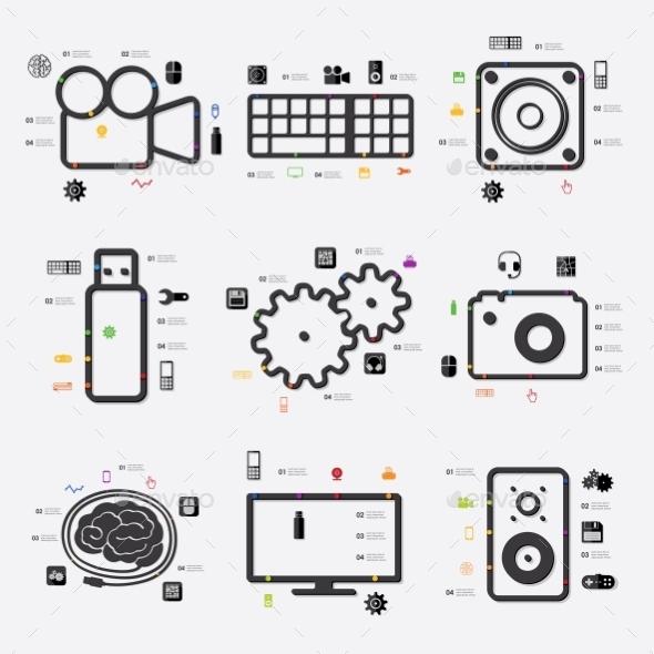 Technology Infographic - Web Technology
