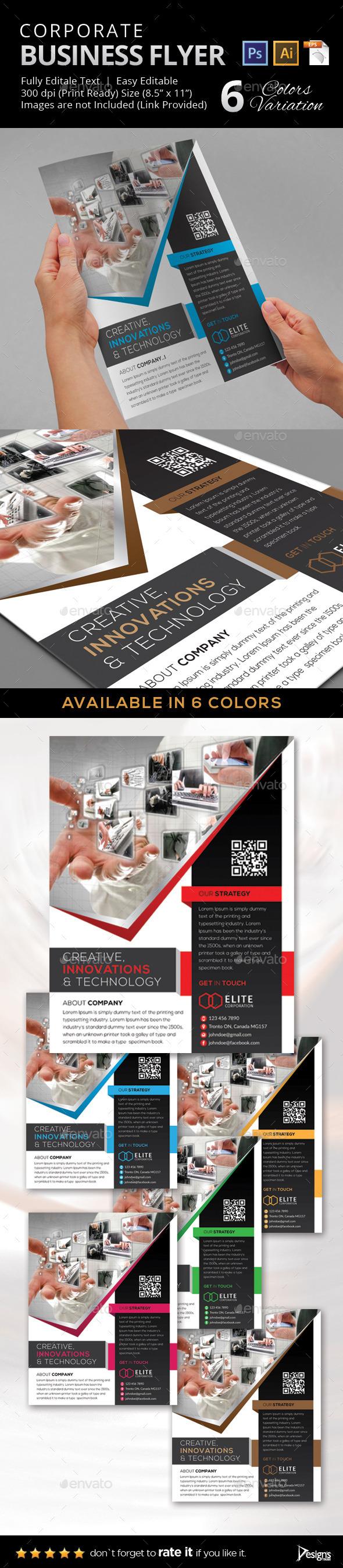 Multipurpose Business Flyer 33 - Flyers Print Templates