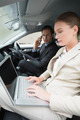 Business team working together in the car - PhotoDune Item for Sale