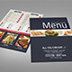 Bi-fold Restaurant Food Menu - GraphicRiver Item for Sale