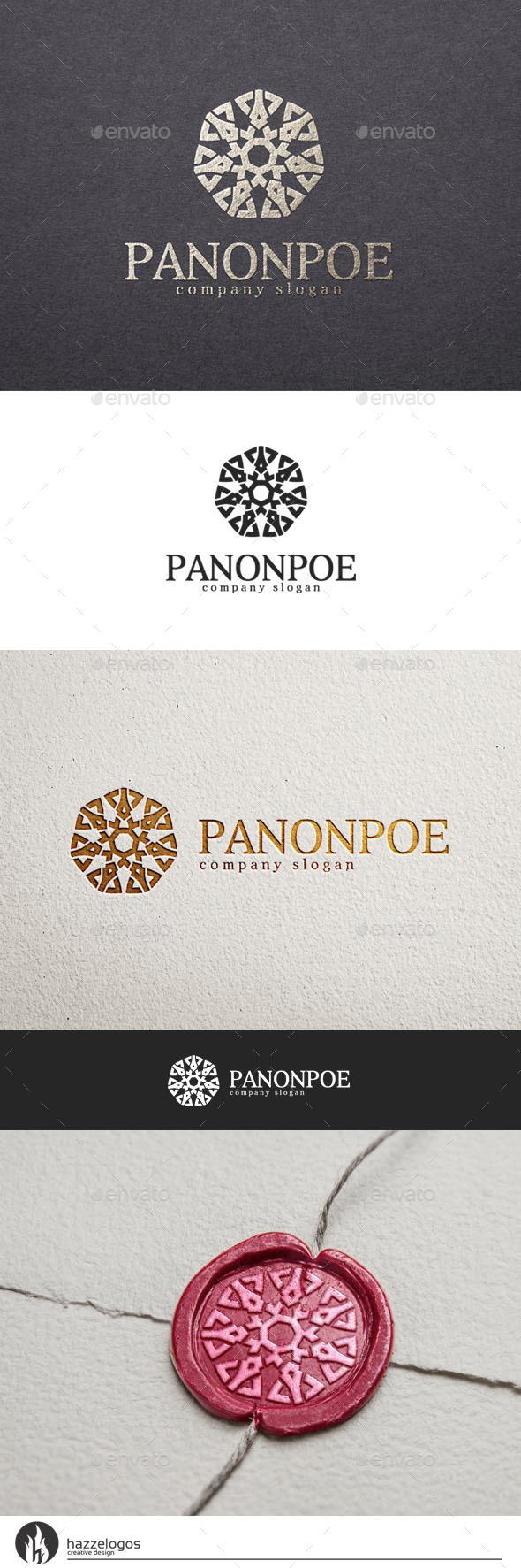 Panonpoe Logo - Crests Logo Templates