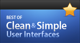 Best Clean & Simple User Interfaces