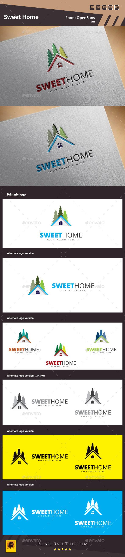 Sweet Home Logo Template - Buildings Logo Templates