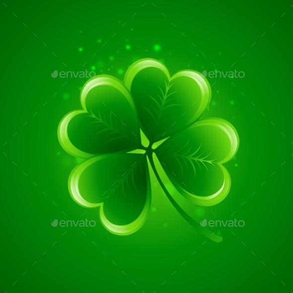 Clover Leaf Saint Patricks Day - Miscellaneous Seasons/Holidays