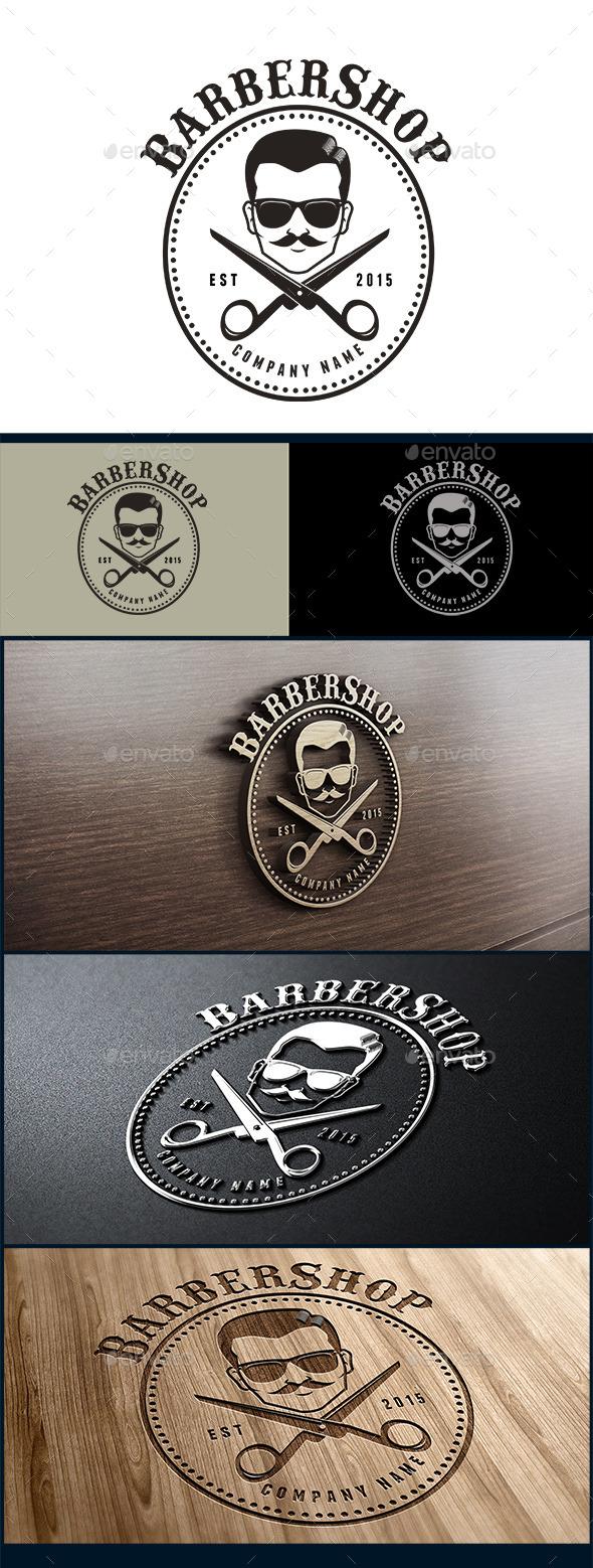 Barbershop Logo - Symbols Logo Templates