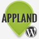 AppLand - Parallax App Landing Wordpress Theme Nulled