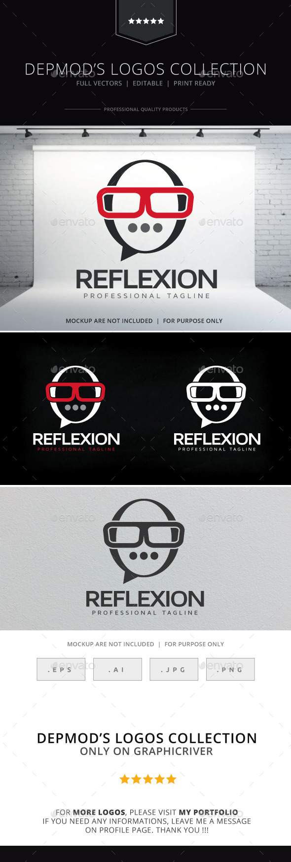 Reflexion Logo - Symbols Logo Templates