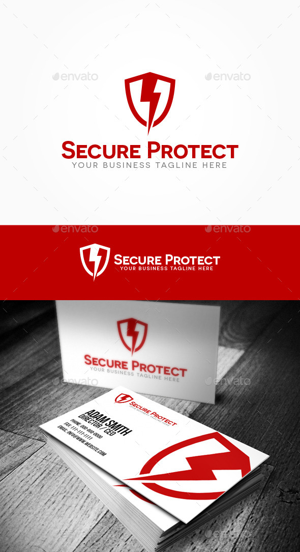 Secure Protect Logo - Crests Logo Templates