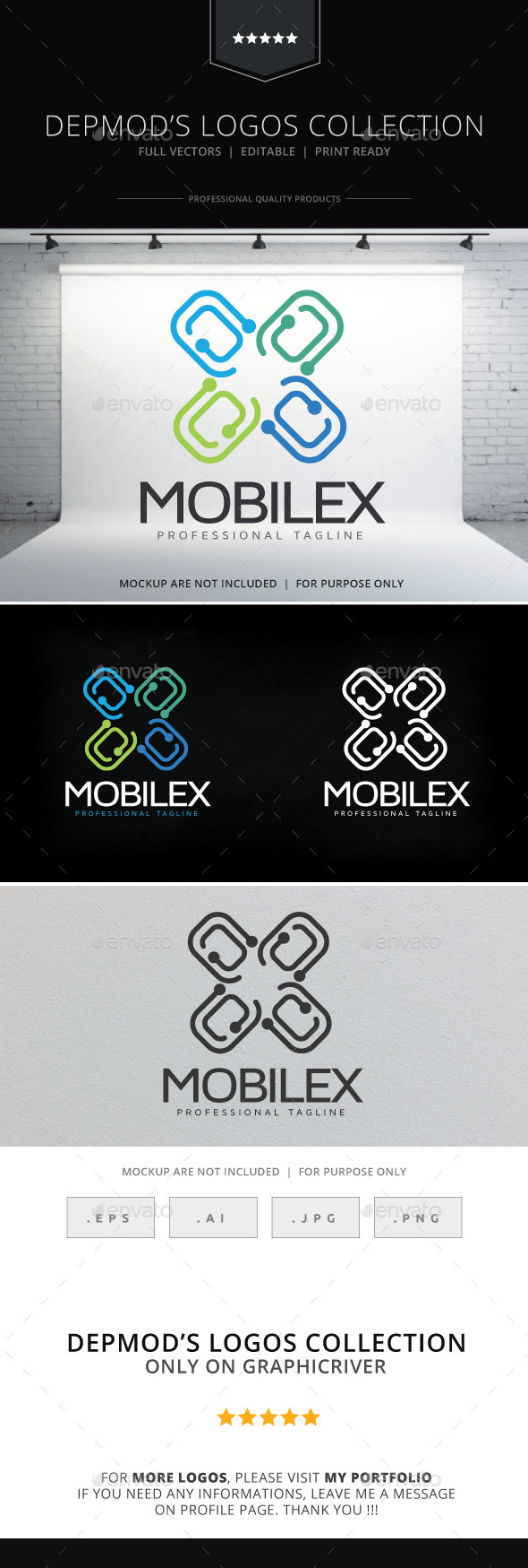 Mobilex Logo - Abstract Logo Templates