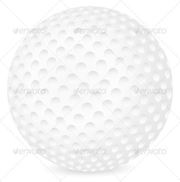 Golf Ball - Sports/Activity Conceptual