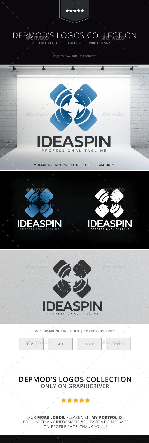 Idea Spin Logo - Symbols Logo Templates