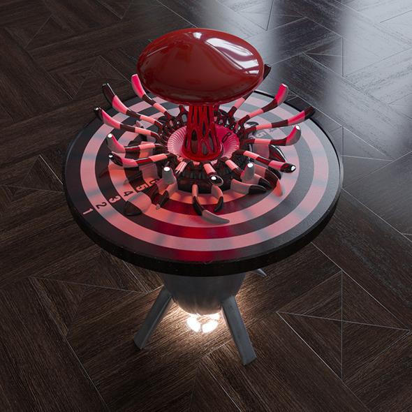 Nuclear bulb - 3DOcean Item for Sale