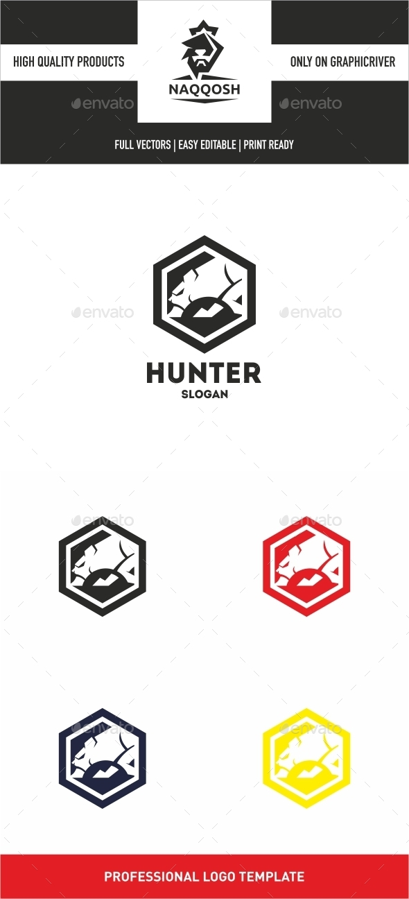 Hunter - Logo Templates