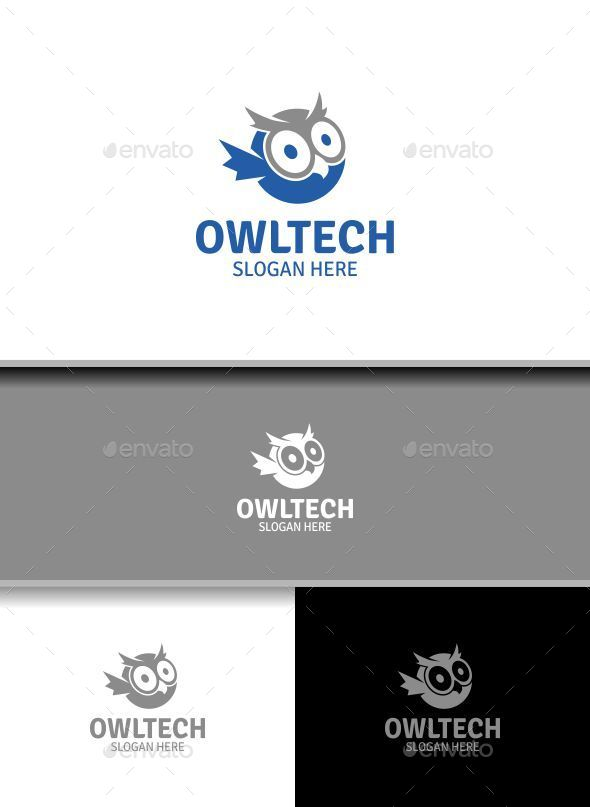 Owltech - Animals Logo Templates