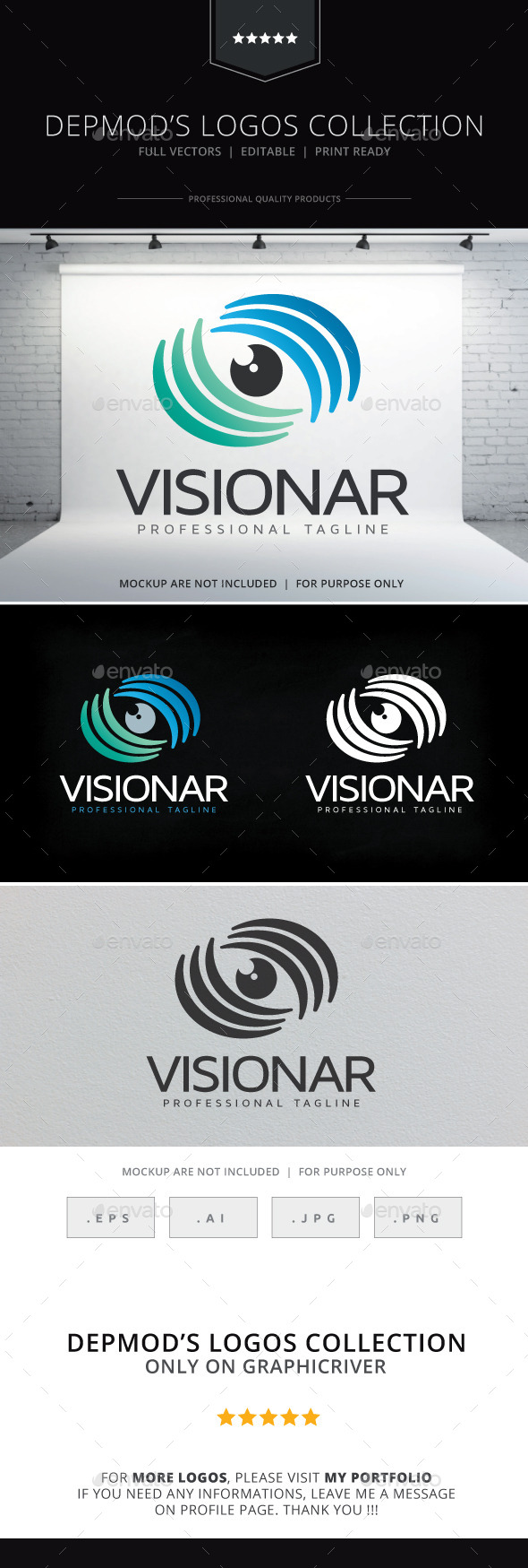 Visionar Logo - Symbols Logo Templates