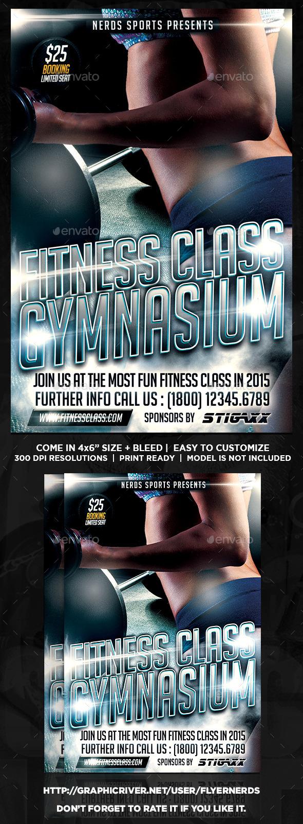 Fitness Class Sports Flyer