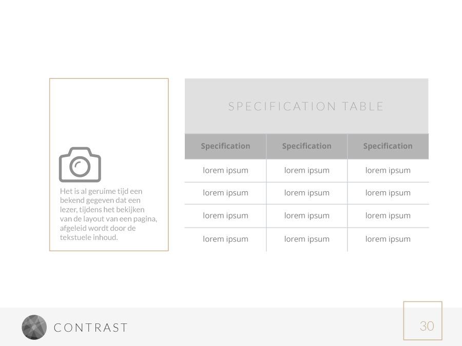 contrast powerpoint templatecreativecomplex | graphicriver, Spe Presentation Template, Presentation templates
