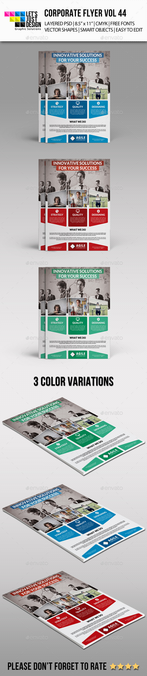Corporate Flyer Template Vol 44 - Corporate Flyers