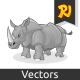 Rhinoceros Cartoon - GraphicRiver Item for Sale