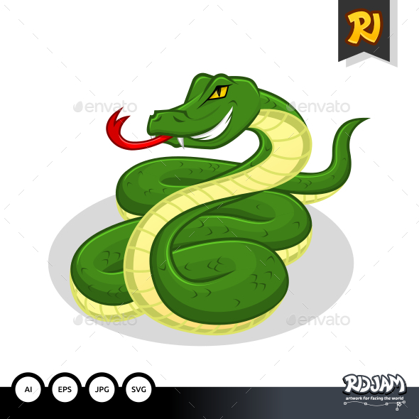 Snake Cartoon - Animals Characters