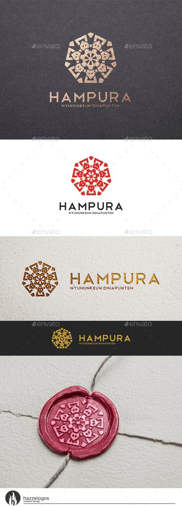 Hampura Logo - Crests Logo Templates