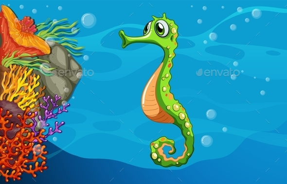 Underwater - Animals Characters