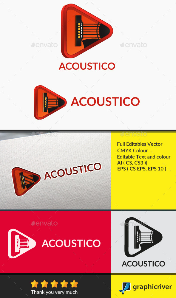 acoustico - Symbols Logo Templates