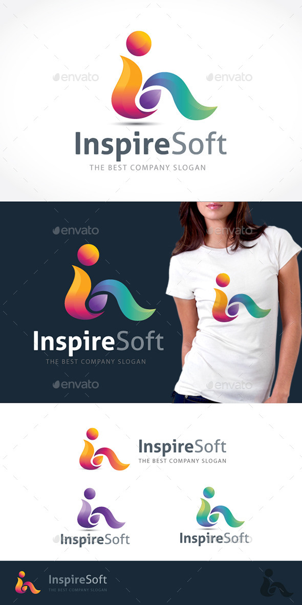 Inspire Soft - Letters Logo Templates