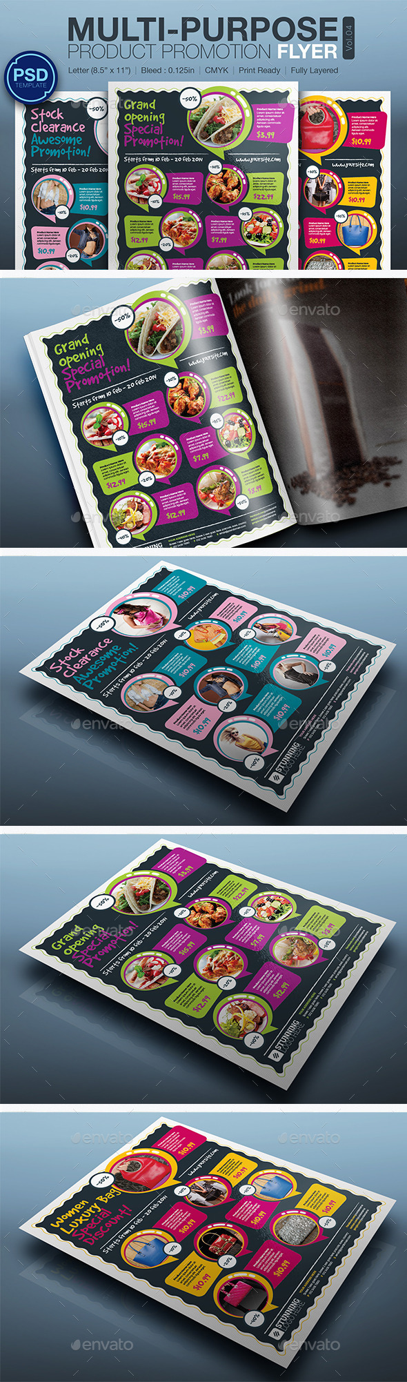 Product Promotion Flyer Vol.04 - Commerce Flyers