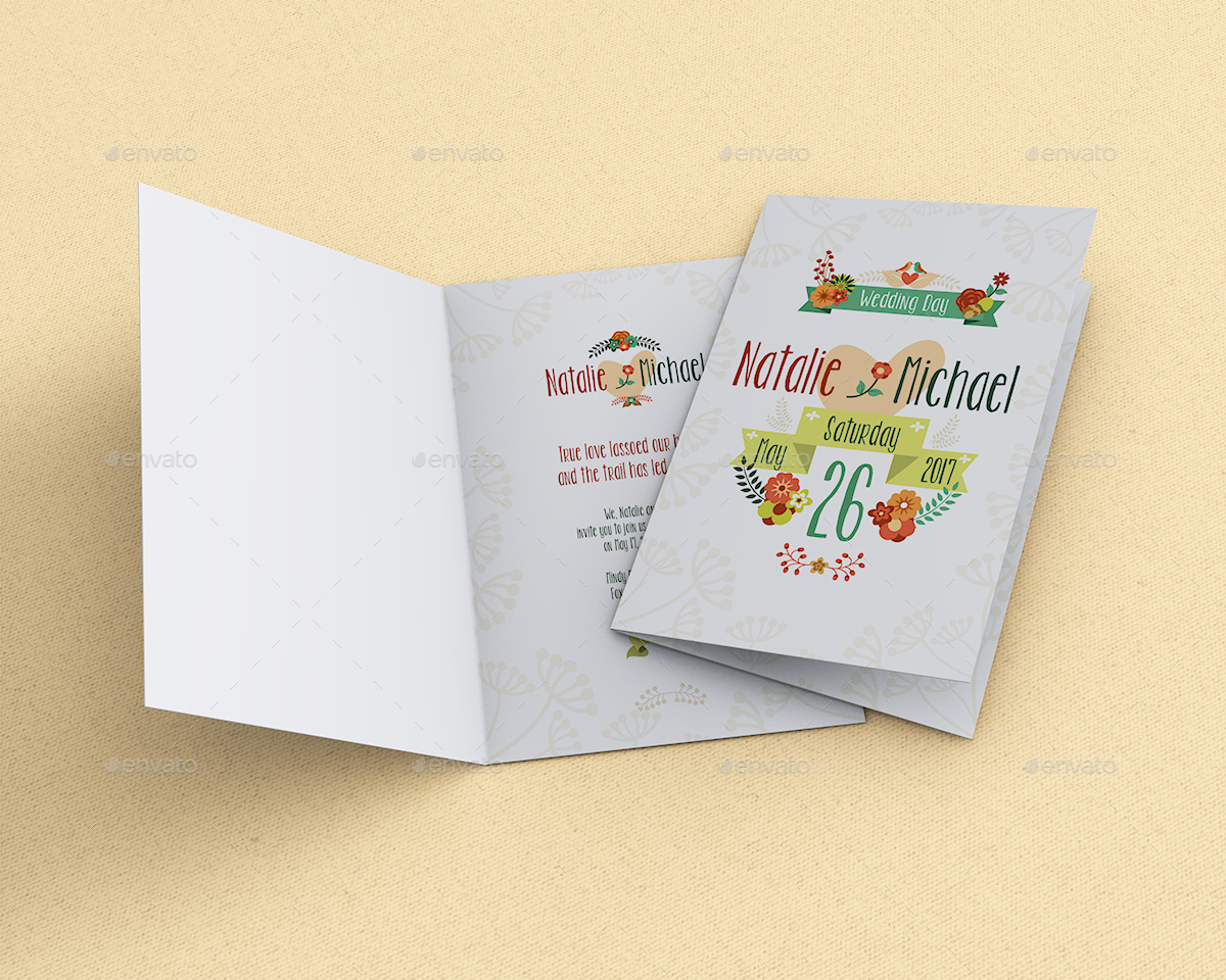 Invitation greeting card mockup by goner13 graphicriver invitation greeting card mockup kristyandbryce Image collections