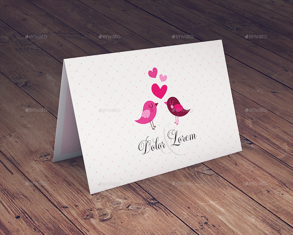 Invitation greeting card mockup by goner13 graphicriver invitation greeting card mockup stopboris Image collections