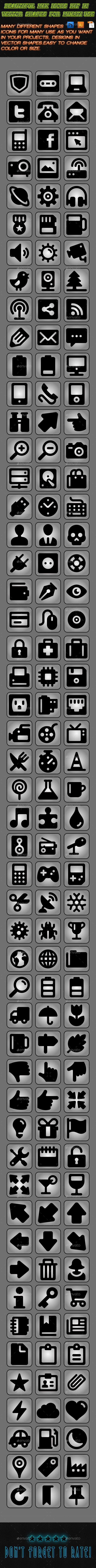 Beautiful Mix Icons Kit - Icons