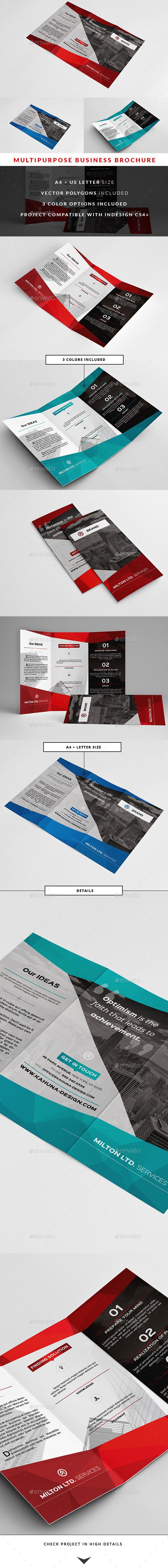 Multipurpose Business Brochure 2 - Corporate Brochures