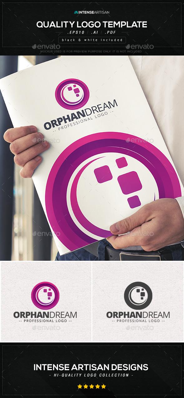 Orphan Dream Logo Template - Abstract Logo Templates
