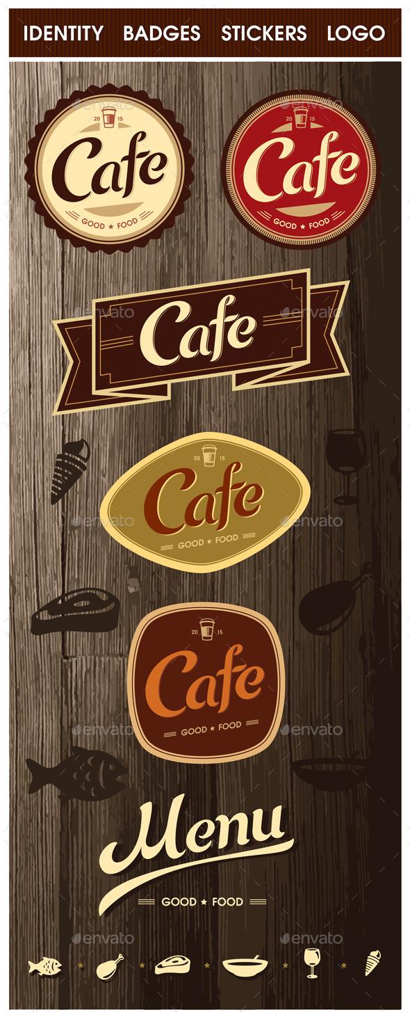 Cafe - Elements design - Concepts Business